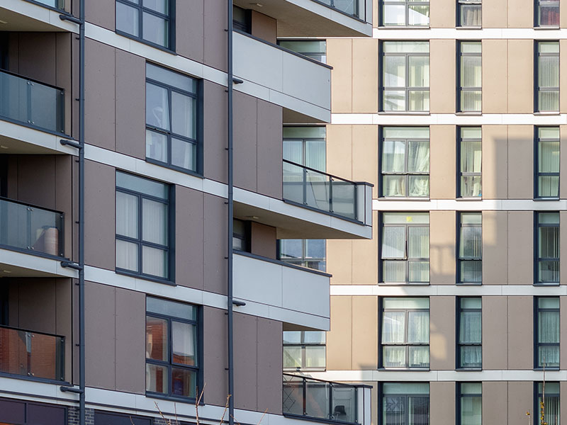 Outlet residential london flats